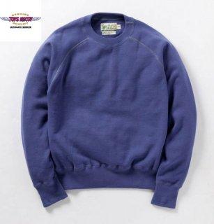 TMC1459 TOYS McCOY S.McQUEEN SWEAT LONG SLV BLUE TMC 1459 トイズマッコイ スティーブマックイーン