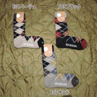 rasox ソックス L字型 メンズ レディース ソックス 靴下 CA172CR02