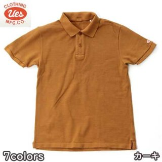 UES 67LW ポロシャツ ウエス