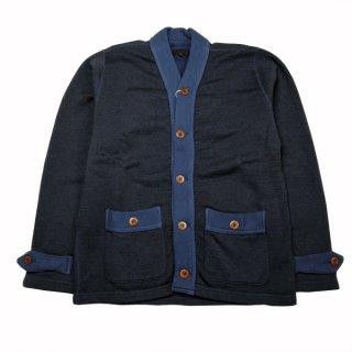 30%OFF DAPPERS LOT1364 Classical Cotton/Wool Sweat Cardigan ダッパーズ スウェットカーディガン