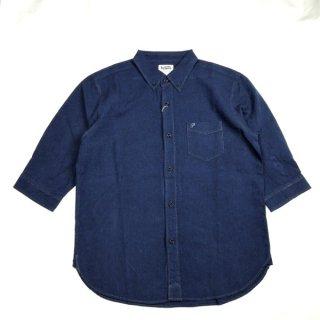PHERROWS 20S-P7BD1 フェローズ 7分袖 BDシャツ コットン リネン 半袖
