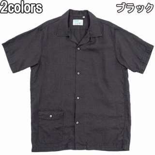 WORKERS Open Collar Shirt オープンカラーシャツ リネンシャツ ワーカーズ 半袖シャツ