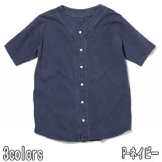 GOOD ON GOST1801 BASEBALL SHIRTS グッドオン ベースボールシャツ 数量限定 半袖シャツ