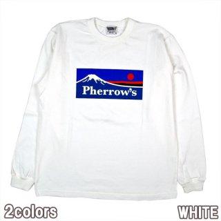 PHERROWS 20W-PLT3 フェローズロゴ アウトドア マウンテン 長袖 Tシャツ