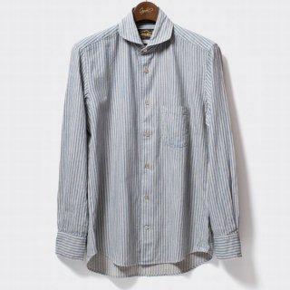ORGUEIL OR-5002B Windsor CollarShirt ウィンザーカラーシャツ オルゲイユ インディゴ クラシック シャツ コサックジャケット ミリタリー シャツ