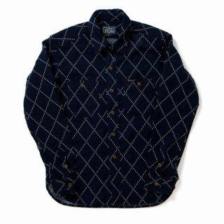 STUDIO DARTISAN 5649 インディゴドビーシャツ ダルチザン