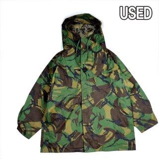 イギリス軍実物USED WATERPROOF スモック ジャケット ミリタリー アウター アウトドア キャンプ 防水 雨 風