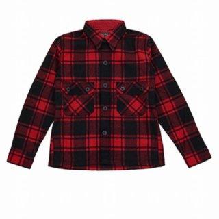 Dry Bones DJ-1104 Wool Check C.P.O.Jacket ドライボーンズ ウール素材 ジャケット チェックシャツ