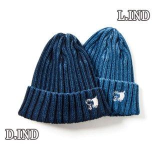 STUDIO DARTISAN 7481 インディゴニットキャップ ダルチザン キャップ 帽子 hat