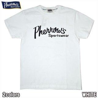 フェローズ PHERROWS 21S-PT1 ロゴT 定番 頑丈 Tシャツ