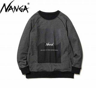 ナンガ RECOVER YARN SWEATSHIRTS リカバーヤーン スウェットシャツ NANGA アウトドア キャンプ