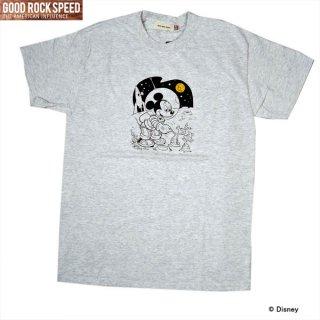 GOOD ROCK SPEED 21FDS002W ミッキーマウス Tシャツ 半袖シャツ グッドロックススピード