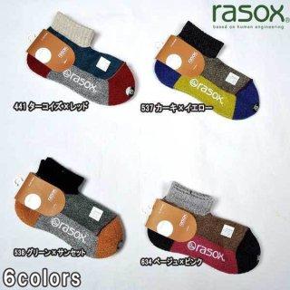 ラソックス rasox SP151AN20 スポーツ ロウ 靴下 ウォーキング