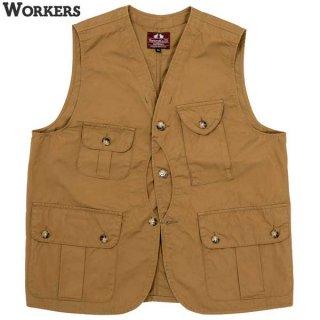 ワーカーズ WORKERS W&G Vest ベスト クルーザー ハンティング アウトドア
