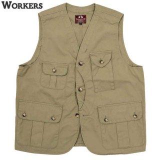 ワーカーズ WORKERS W&G Vest ベスト クルーザー ハンティング アウトドア olive