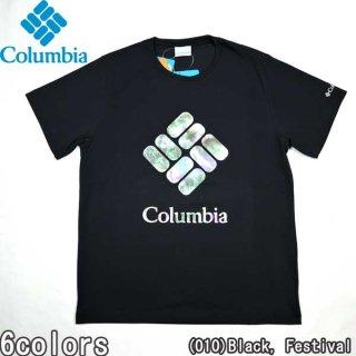 コロンビア Columbia PM0178 サンシャインクリークショートスリーブT 半袖 ロゴ アウトドア キャンプ 速乾