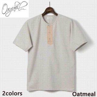 オルゲイユ ORGUEIL OR-9051 Henry T-Shirt 半袖 シャツ ヘンリーネック Tシャツ