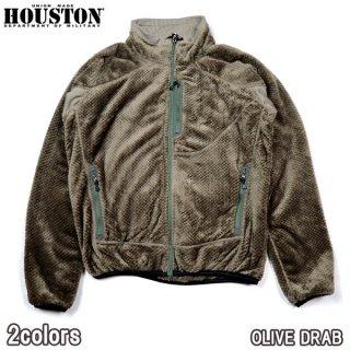 ヒューストン HOUSTON 21911 BOA FLEECE JACKET ボアフリース ジャケット ミリタリー アウトドア キャンプ