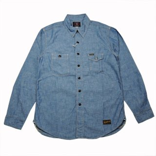 TOYS McCOY CHAMBRAY WORK SHIRT TMS1503