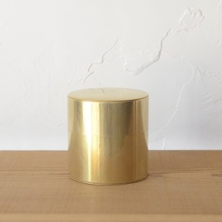 SyuRo 丸缶 真鍮 小