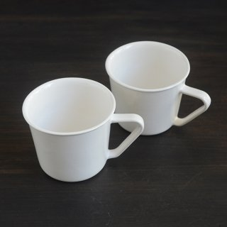山本拓也 乳白マグカップ