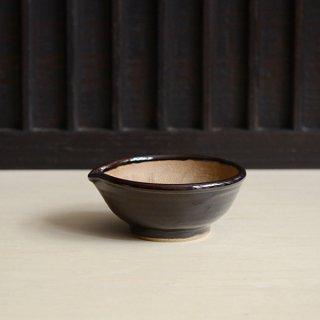 原泰弘 すり鉢 黒 S 15.5cm