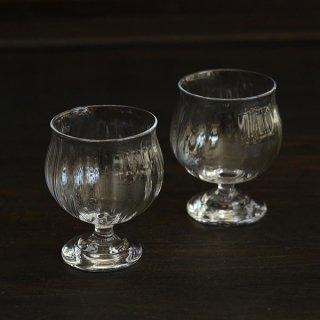 花岡央 クリアミニワイングラス 径6cm  高さ8.5cm