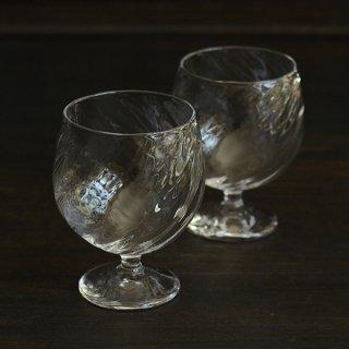 花岡央 クリアワイングラス 径6.3cm   高さ10cm