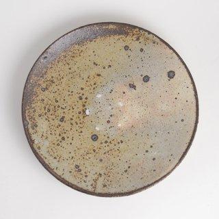山田隆太郎 粉引8寸皿 径24.5cm 高さ4cm