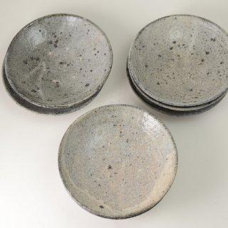 八田亨 白掛6寸皿 φ19cm h4.5cm