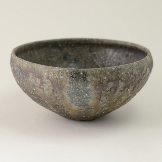 八田亨 自然釉6.5寸鉢 φ19.5cm h9cm