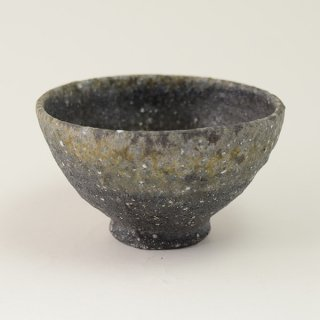 八田亨 自然釉 碗  φ14cm h8cm