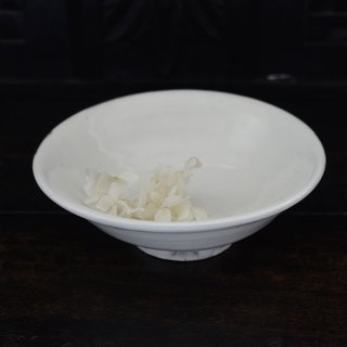高木剛 粉引6寸鉢 φ18.5cm h6cm