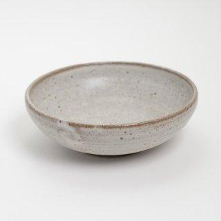 櫻井薫 6寸丸鉢 藁灰 φ18cm  H6cm