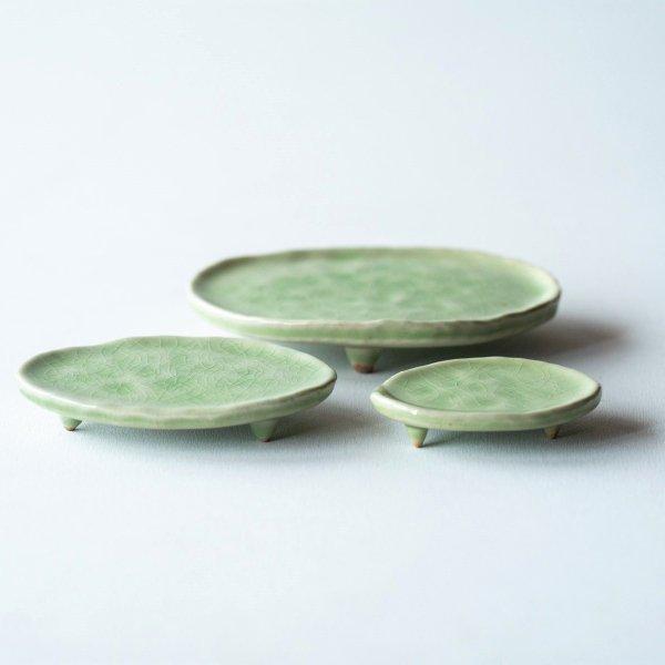 三足皿|若草