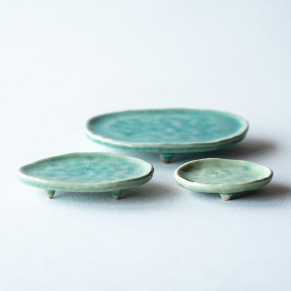 三足皿|氷青