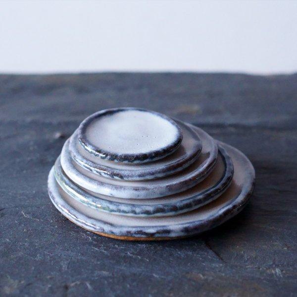 石木花の皿|萩