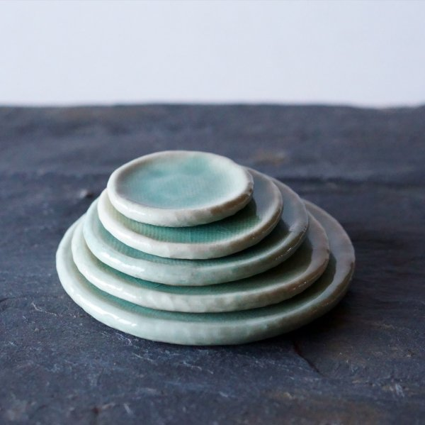 石木花の皿|氷青