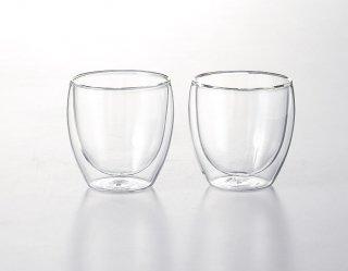 ボダム パヴィーナ ダブルウォールグラス0.25�