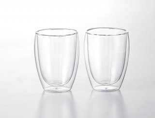 ボダム パヴィーナ ダブルウォールグラス0.35�