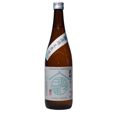 越乃白雁 黒松 かめ口生原酒(720ml)