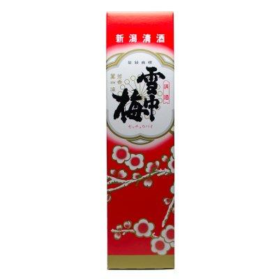 雪中梅 1.8L1本用専用化粧箱