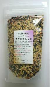 国産(岩手県産) 無農薬 雑穀 5つ星ブレンド1kg