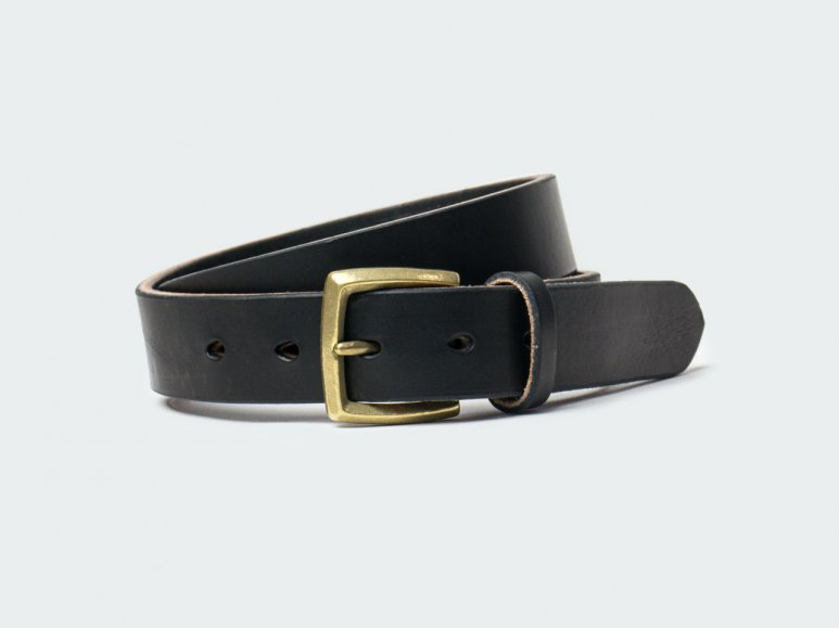 SOLID AMERICAN STEER HYDE 32 / BLACK