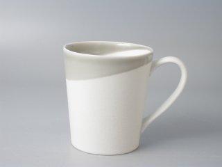 有田焼 つき立マグカップ(大)グレースノー