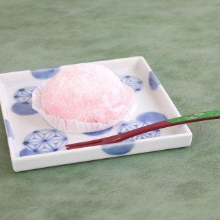有田焼 麻紋14cm角皿