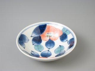 有田焼 色椿11.5cm 平鉢