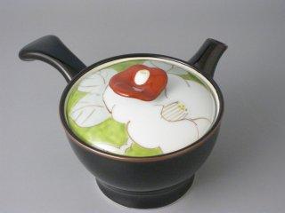 彩椿(緑) 花急須