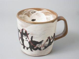 毛糸ネコマグカップ(中)
