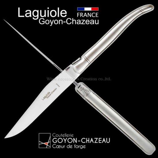 ゴヨン・シャゾー ラギオール ナイフ ステンレス ボルスター TG100SB